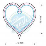 Lufterfrischer Nr. 023 Herz