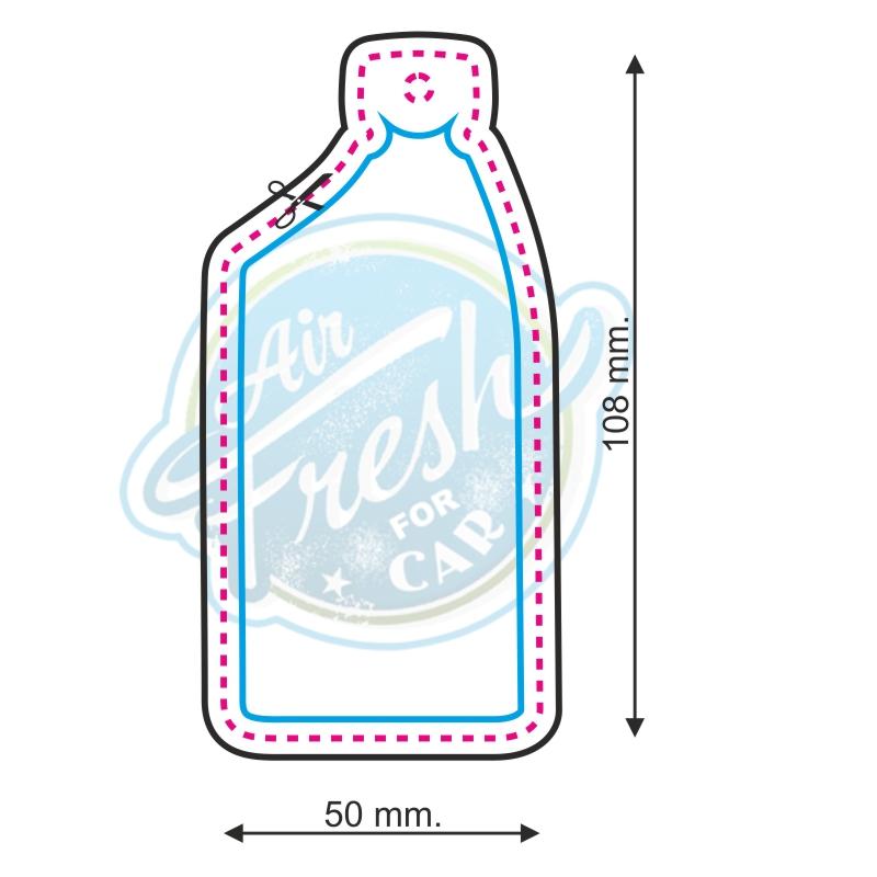 Duftbaumform Nr. 030 Flasche